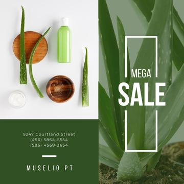 Natural Cosmetics Sale Offer