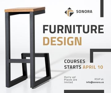Custom Furniture Ad Modern Wooden Chair