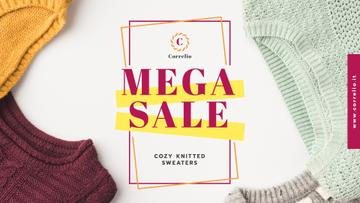 Special Sale with Colorful sweaters