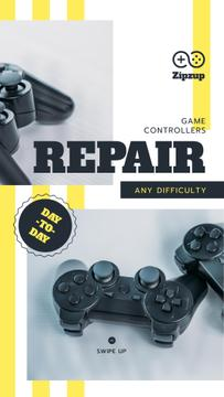 Repair game joysticks Offer