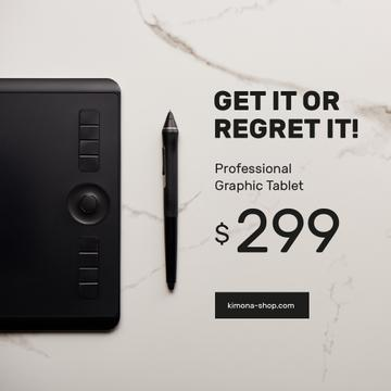 Business Graphic Tablet Ad