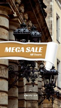Tours Offer with old city building