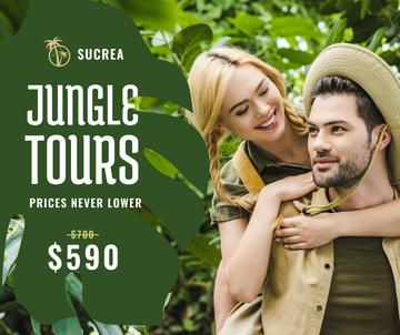 Travel Tour Offer couple in Jungle