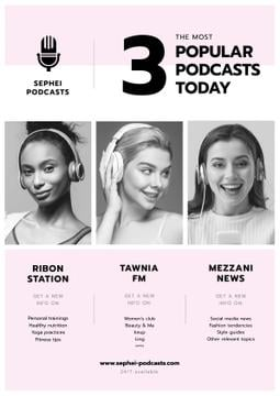 Popular podcasts with Young Women