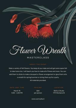 Masterclass of Flower Wreath making Annoucement