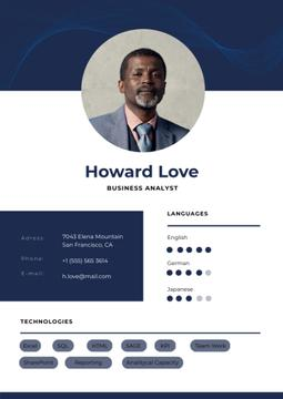 Business Analyst professional profile