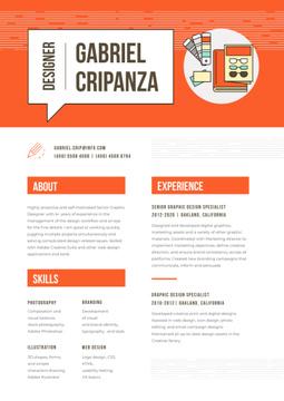 Professional Designer creative profile