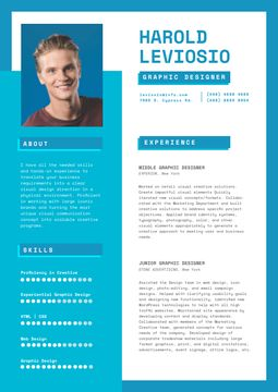 Professional Graphic Designer Profile