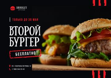 Special Offer with Tasty Burgers
