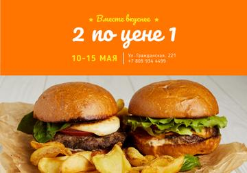 Two Delicious Burger Offer