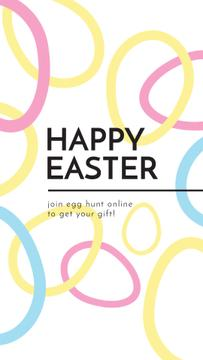 Egg Hunt Offer with rotating Easter Eggs