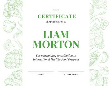 Healthy Food Program contribution Appreciation