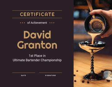Bartender Championship winner Achievement