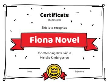 Kids Fair attendance confirmation