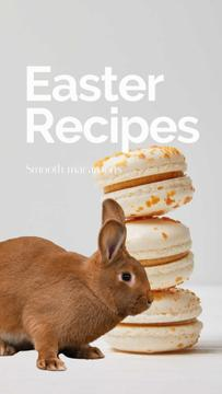 Easter Recipes with cookies and Bunny
