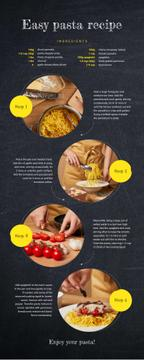 Food Infographics How to cook pasta