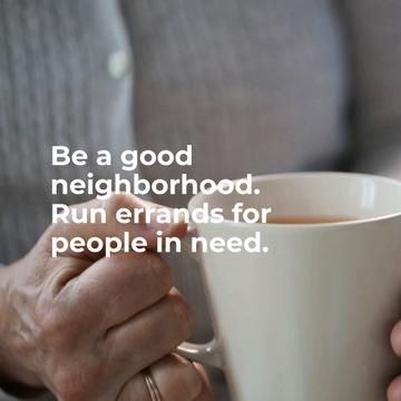 Citation about neighborhood with Old Woman