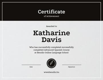 Language School Online courses Achievement