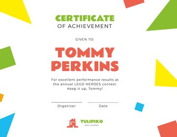Kids Creative Contest Achievement