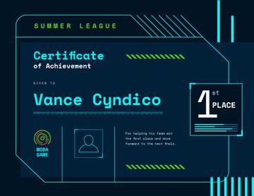 VR game Duel Achievement confirmation