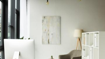 Cozy home office Interior