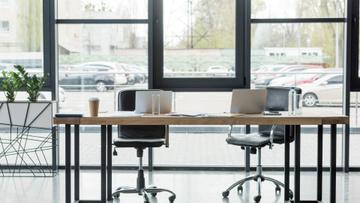Modern Workplace Office Interior