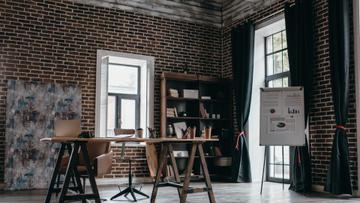 Cozy Design of Home Workplace