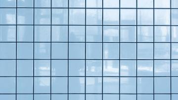 Light blue tile Wall
