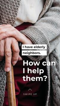 #ViralKindness awareness with care for Elder people