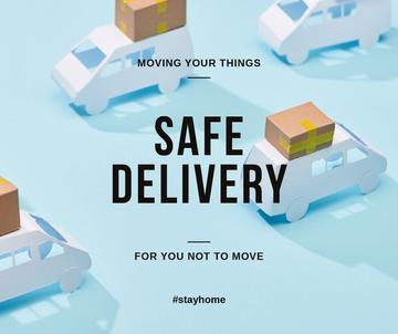 #StayHome Delivery Services offer with cars