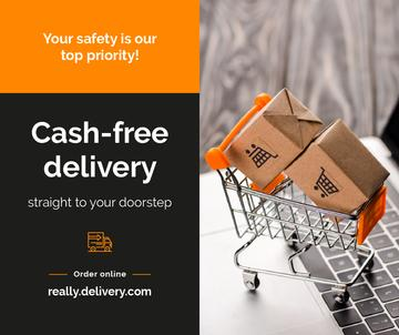 Cash-free delivery Service during Quarantine