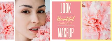Beauty Inspiration Young Girl without makeup