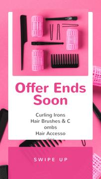 Hairdressing Tools Sale in Pink