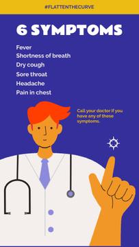 #FlattenTheCurve Coronavirus symptoms with Doctor's advice