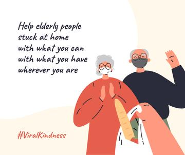 #ViralKindness Plea to help elderly people