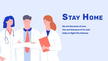 #Stayhome Coronavirus awareness with Doctors team
