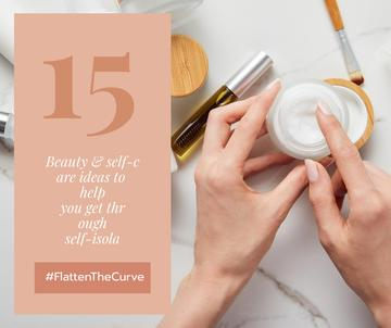 #FlatenTheCurve Beauty ideas during Quarantine