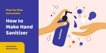 #SaveHands Instruction how to make Hand Sanitizer
