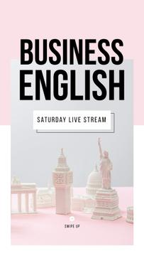 Business English Live Stream annoucement