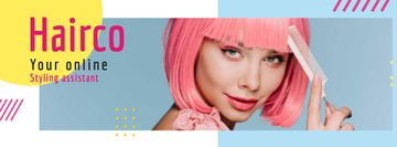 Styling Assistant Offer with Pink-haired Woman