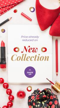 New Collection Offer with Red Accessories