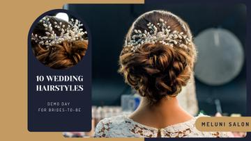 Wedding Hairstyle inspiration Bride with Braided Hair