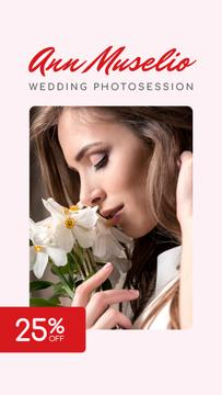 Wedding Photography offer Bride in White Dress