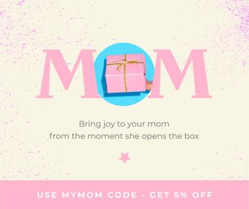 Gift Offer on Mother's Day in Pink