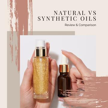 Natural Synthetic Oils Offer in Pink