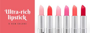 Beauty Store Lipsticks in Red