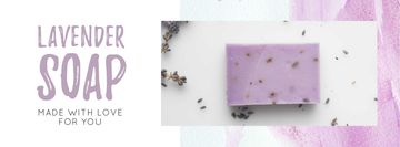 Handmade Soap Bar with Lavender