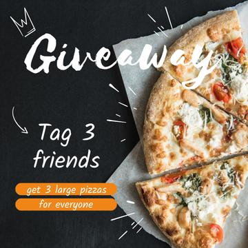 Giveaway Pizza Ad