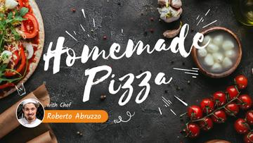 Homemade Pizza Ad with Chef