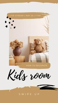 Live Stream about Decorating Kids Room